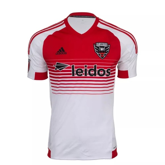 Adidas DC United MLS Soccer Jersey M men s white 53f4d104c